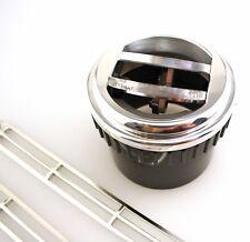 Billet Round Dash Vent AC Heat Aftermarket Auto Air Conditioning Billet Aluminum