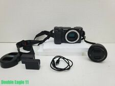 Sony Alpha a6000 Mirrorless Digital Camera w/ 16-50mm Lens (Black) ILCE6000