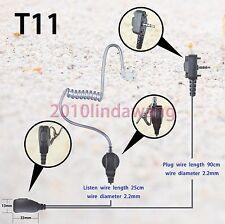 1-wire Surveillance Earpiece Vertex Standard VX354 VX418 VX400 Portable Radio