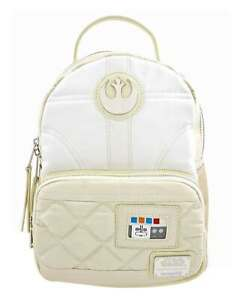 Star Wars Mini Backpack Princess Leia Hoth Logo new Official loungefly One Size