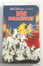 101 DALMATIANS (Walt Disney Classic Clamshell) ~ VHS (G Rated) ~ 1961 Remastered