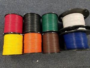 24 AWG Gauge Stranded Hook Up Wire Kit 100 ft Ea REELS 8 Color UL1007 300 Volt