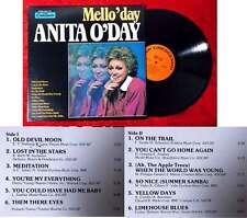 LP Anita O´Day: Mello´day (Crescendo GNPS 2126) US 1979
