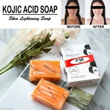 2 bars X 65 grams Kojie San Kojic Acid Skin Whitening and Lightening Soap