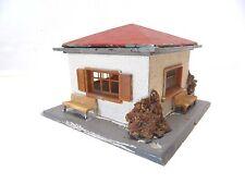 P 15 ) maisonnette  de decor montée train electrique HO compatible jouef