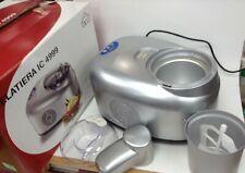 Ice Appliance Gelatiera Ice Cream Maker 1.4L Sorbet Sherbets Frozen Yogurt+Drink