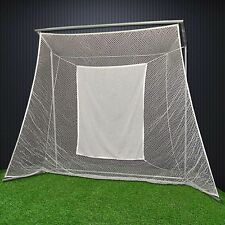 Golf Net and Frame 7'H x 11'W Swing Master (Golf Swing Practice Kit)