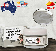 Elizavecca Carbonated Bubble Clay Mask Milky Piggy Makeup Remover Foaming Mask