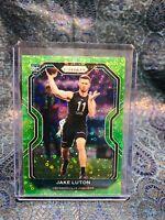 2020 Panini Prizm Jake Luton Green Disco Rookie Card RC SP /5 Jax Jaguars