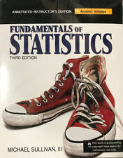Fundamentals Of Statistics (3rd Ed)- Annotated Instructors Edition By Sullivan