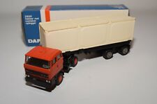 ± LION CAR DAF 2800 TRUCK WITH TRAILER CONTAINER CHASSIS NEAR MINT BOXED
