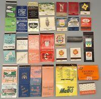 60 Vintage Foreign International Hotel Matchbooks: Canada, Sweden, Caribbean ++