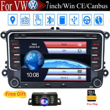 7'' Car Radio Stereo DVD Player GPS CANBUS For VW Jetta Tiguan Polo Amarok EOS