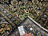 10x14 BLUE VINTAGE RUG WOOL HAND KNOTTED ORIENTAL handmade handwoven dark carpet