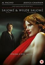 Salome & Wilde Salome: Al Pacino and Jessica Chastain (DVD) New & Sealed