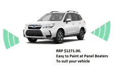 GENUINE SUBARU FORESTER SATIN WHITE PARKING SENSORS (FRONT & REAR) SAVE $770 NEW
