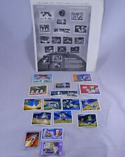 Tributes to American Space Accomplishments World of Stamps Vintage NASA
