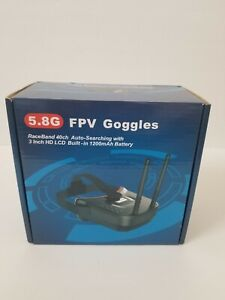 5.8Ghz FPV Goggles Video Headset 5.8G 40CH HD 3 Inch Display