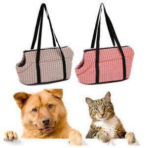 Pet Puppy Dog Mesh Sling Carry Pack Backpack Carrier Travel Tote Shoulder Bag US