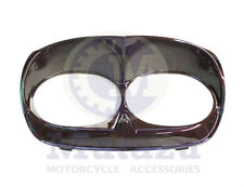 Mutazu Black Cherry Bad Boy Bezel Fits Harley Road Glide