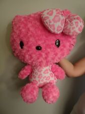 Hello Kitty - Peluche Rose Leopard 50 cm 2012 Eikoh Sanrio Import Japon