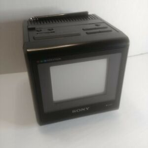 SONY WATCHCUBE INDEXTRON KVX-370 COLLECTORS TV VERY RARE - UNTESTED