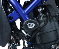 Yamaha MT-07 MT07 2019 Black R&G Racing Aero Crash Protectors Bungs Bobbins