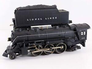 Lionel Postwar 1666 Prairie Type 2-6-2 Steam Locomotive w 2466WX O27 Restored