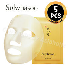 Sulwhasoo First Care Activating Mask x 5pcs Moisturizing Radiance AMORE PACIFIC