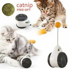 Smart Cat Toy With Wheels Automatic No Need Recharge Cat Toys Interactive BEST