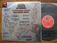 ASD 3807 STRAVINSKY: THE RITE OF SPRING   MUTI / PHILADELPIA   NM  Audiophile