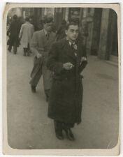 Lot de 40 Photos Filmeur Photographe de Rue Marseille Vers 1930/50