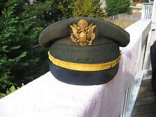 """Vintage US Military """"Flight Ace""""  Officer Dress Hat 6 7/8"""