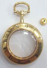 vintage premium co Swiss Watch Case gold base metal #C089#