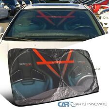 "51""x28"" Car SPEC-D Windshield Sunshade Window Sun Block Cover Screen Foldable"