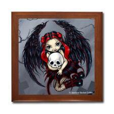 Skull Stealer Fairy Ceramic Tile Jewelry Trinket Box Jasmine Becket-Griffith
