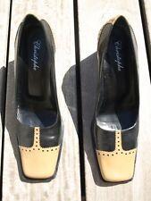 Citadine chaussure femme Italie noir & beige Christophe T39