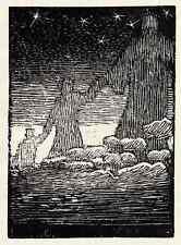 WELTWEISER - Robert BUDZINSKI - um 1920 Holzschnitt