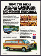 "1979 Dodge Royal Sportsman Wagon photo ""Oldie But Goodie"" promo print ad"