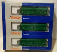 Roco H0 45986 - SET 3 TOLVAS VERDES RENFE