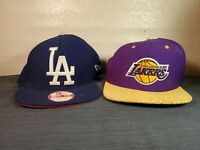 Los Angeles LA Lakers And Dodgers Snapback Hat (Hb6)
