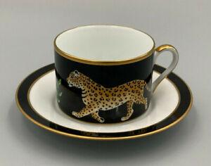 Lynn Chase Designs Jaguar Jungle - Tea Cup and Saucer.