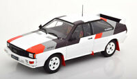 AUDI QUATTRO RALLY GROUP B NICE EXAMPLE GOOD DETAIL 1:18 SCALE DIECAST MODEL IXO