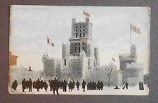 1900's Ice Palace Montreal Postcard