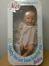 Berjusa Life-Like A New Baby Just Born Girl Doll Box Birth 1987 Doll Factory Box