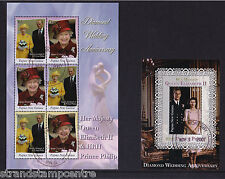 Papua New Guinea - 2007 Diamond Wedding - CTO Used - SG 1200-5 + MS1206