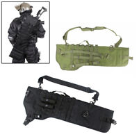 Tactical Shotgun Rifle Scabbard Holster Molle Rifle Sling Case Bag for Hunting