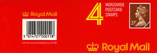QEII 1988 GF2 (X973m) Phosphor Paper Walsall 4 x 27p Barcoded Booklet Cat £35