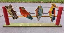 Vintage DAISY Air Gun * Pop The {Exotic} Bird * Target Shooting Gallery Game