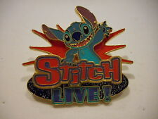 Stitch Live Disneyland Resort Paris 3-D  Disney Pin